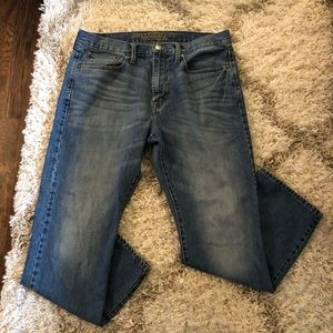 American Eagle Relaxed Straight Jeans 34x30